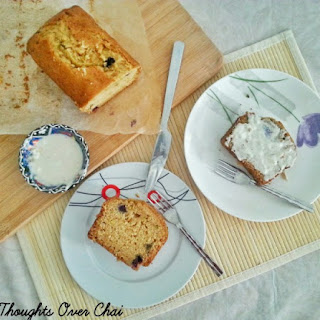 Orange Blueberry Loaf Cake