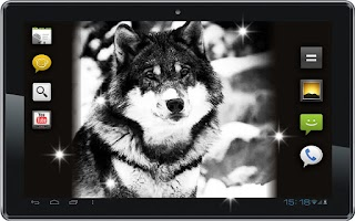 Screenshot of Wolf Free HD live wallpaper