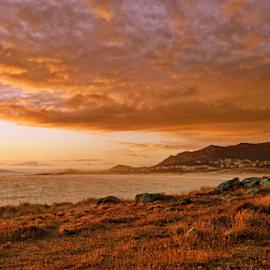 Sunset color by Antonio Amen - Landscapes Sunsets & Sunrises