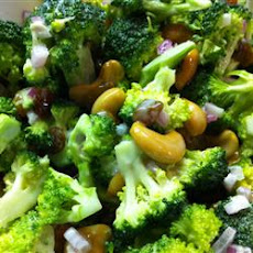 Broccoli Cashew Salad