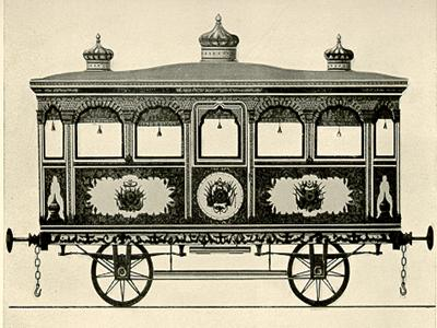 The first Khedival vehicle