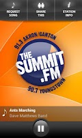 Screenshot of The Summit Radio