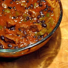 Black Bean Chili Con Carne