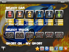Screenshot of Tiny Racing HD