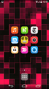 Pop UI (Go Apex Nova theme) - screenshot