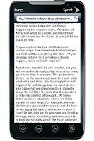 Screenshot of The Law of Attraction