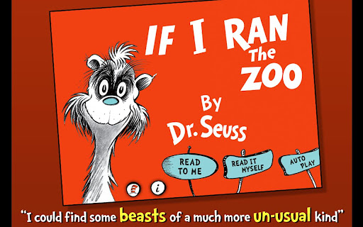 玩書籍App|If I Ran the Zoo - Dr. Seuss免費|APP試玩