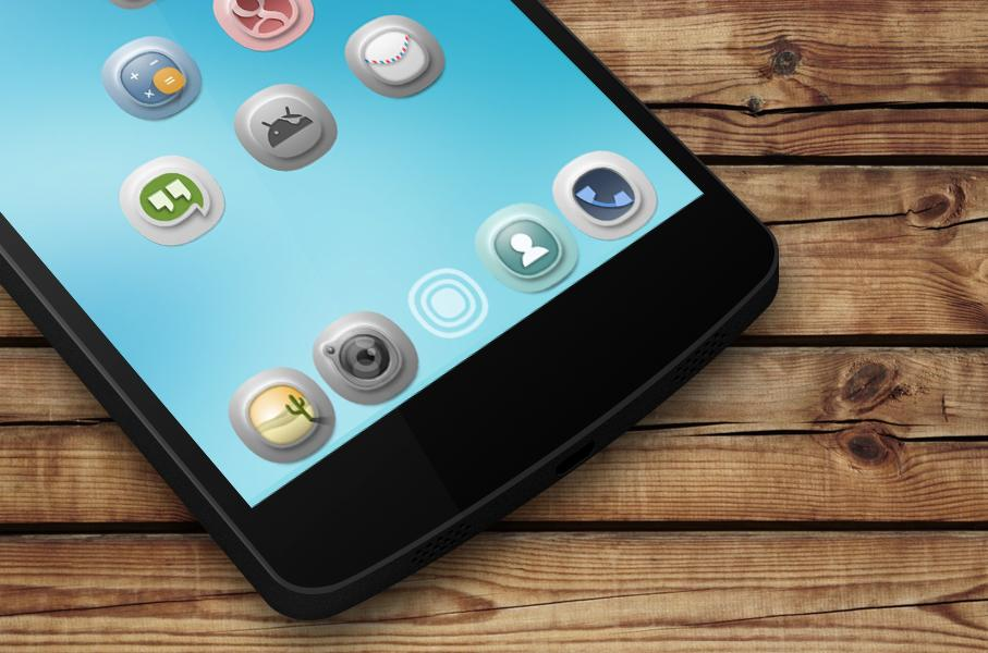 Timbul Icon Pack Screenshot 4