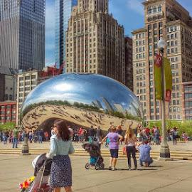 chicago  by Jon Radtke - City,  Street & Park  Skylines ( chicago )