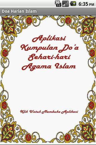 doa-doa-islam for android screenshot