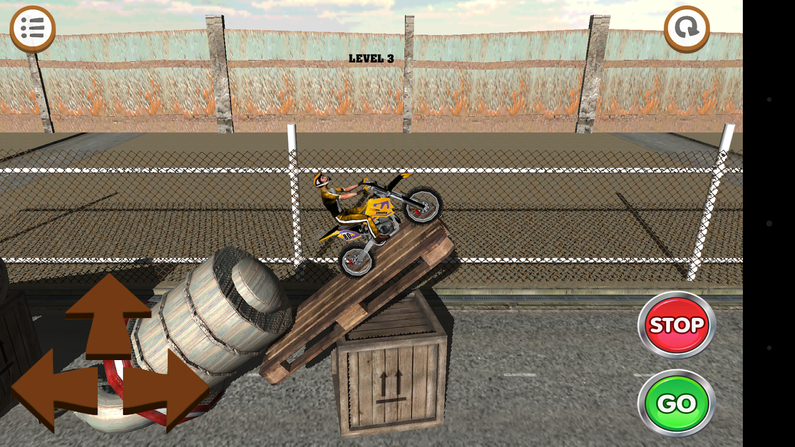 3D Motocross Bike: Industrial Screenshot 0
