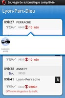 Screenshot of Horaires TER SNCF