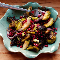 Spice Roasted Brussels Sprouts
