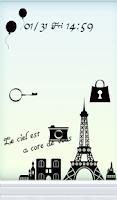 Screenshot of Cute wallpaper★Parisian days