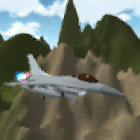 flight fight 3D icon