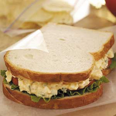 Mom's Egg Salad Sandwiches