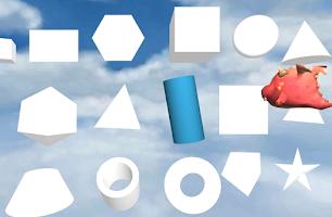 Screenshot of Toddler Shapes Kids 3D