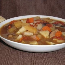 Wild Willie's Vegetable Beef Soup