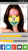 Screenshot of Paint your face Ghana