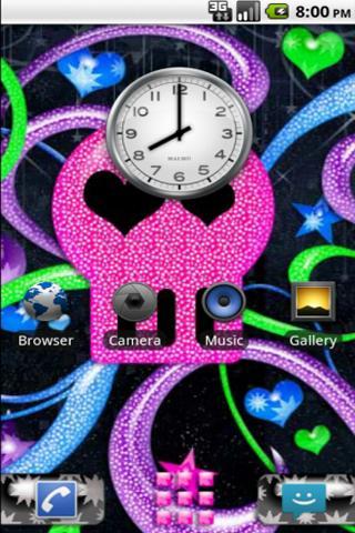 GDE Pink Skull Theme