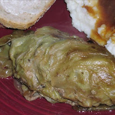 Krautwickel: German Stuffed Cabbage Leaves