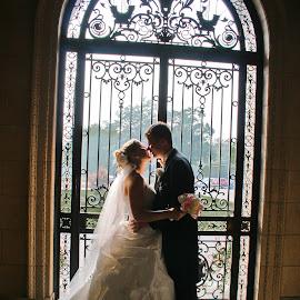 by Jeff Fox - Wedding Bride & Groom