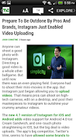 Screenshot of TechCrunch