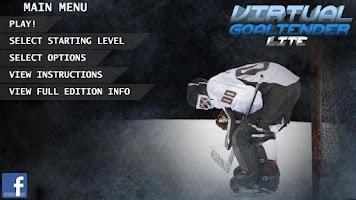 Screenshot of Virtual Goaltender Lite