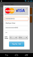 Screenshot of Ufone Balance Recharge/Package