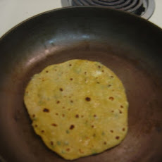 Ricotta Paratha (Indian flat bread)