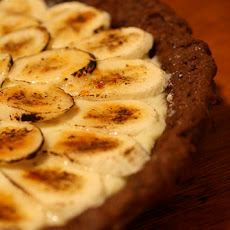 Banana Cream Pie with Chocolate-Chip-Cookie Crust