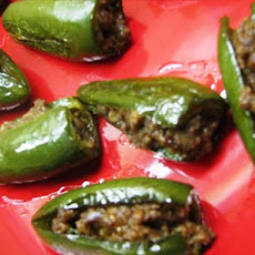 Susanna Foo's Jalapeño Peppers With Pork Stuffing