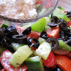 Marinated Greek Village Salad