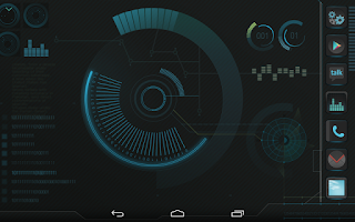 Screenshot of IRON Atom theme