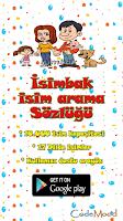 Screenshot of İsim Sözlüğü (10.000 isim)