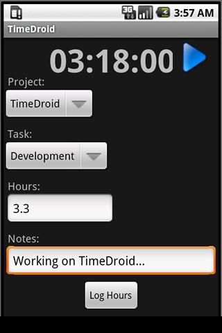 TimeDroid for Freshbooks