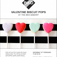 BKD Valentine Biscuit Pop Children's Baking Class - Hackney