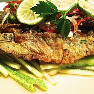 Deep Fried Fish Thai Style