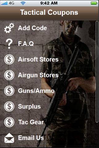 Tactical Coupons