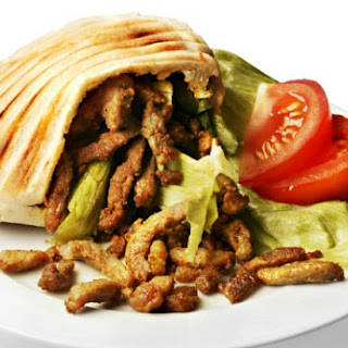Leftover Turkey Shawarma