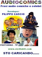 Screenshot of frasi audio comiche e celebri