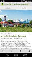 Screenshot of Radtouren Bayern