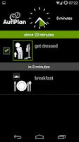 Screenshot of AutiPlan - Visual Scheduling