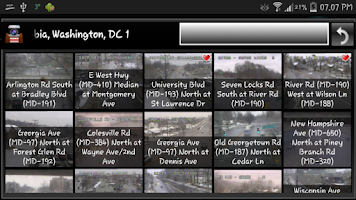 Screenshot of Cameras Washington DC