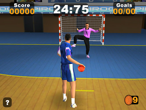 Handball 7m Contest - screenshot