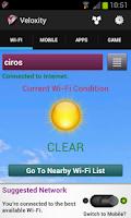 Screenshot of WiFi     Mobile Network Speed