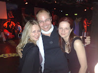 Ewa, Matthias and Judy at the after party