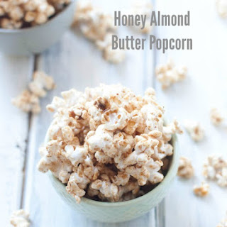 Honey Almond Butter Popcorn