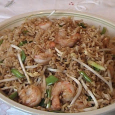 Vegetable Shrimp Fried Rice