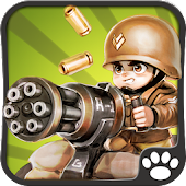 Download Little Commander - WWII TD APK on PC
